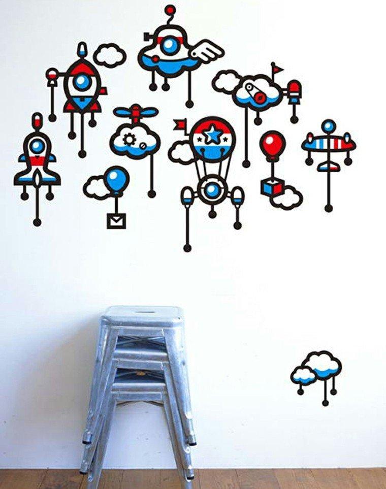 decorar interiores pegatinas vinilo infantiles