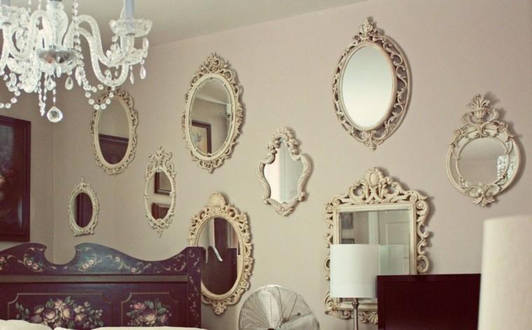 Decorar paredes con estilo cincuenta ejemplos for Decoracion de paredes con espejos