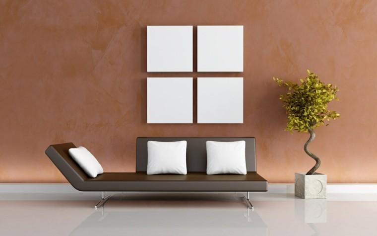 Decorar paredes con estilo - cincuenta ejemplos