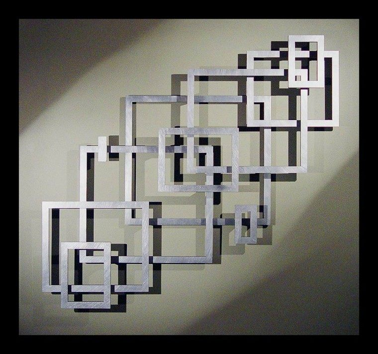 Decorar paredes con estilo cincuenta ejemplos - Adornos para pared ...