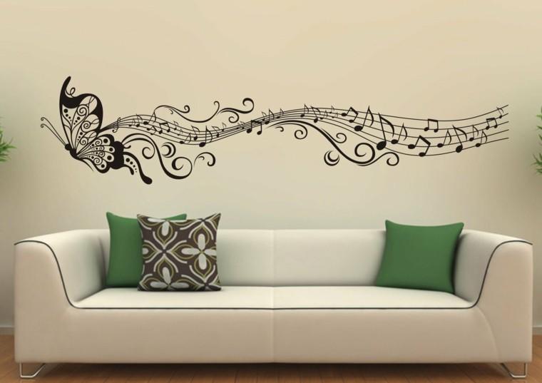 decorar pared pegatina vinilo - Decoracion Paredes