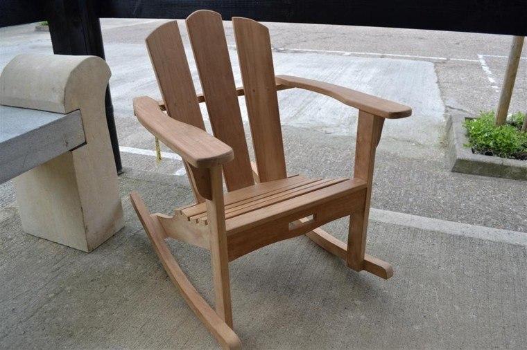 modern wood style rocker design
