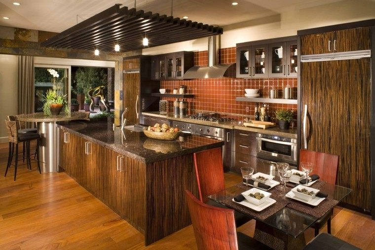 diseño cocina laminadios madera