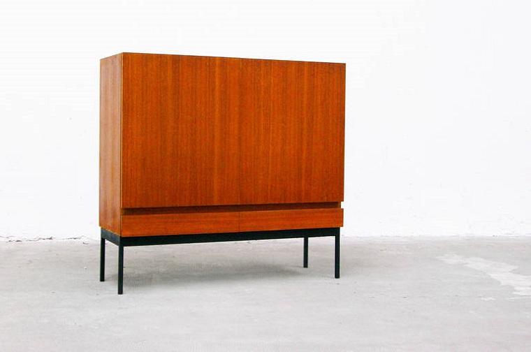 diseño comoda madera estilo minimalista
