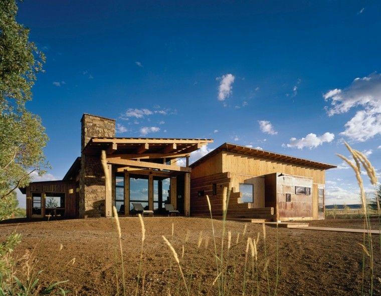 Fachadas de casas rusticas cincuenta dise os con encanto - Casas de madera con encanto ...