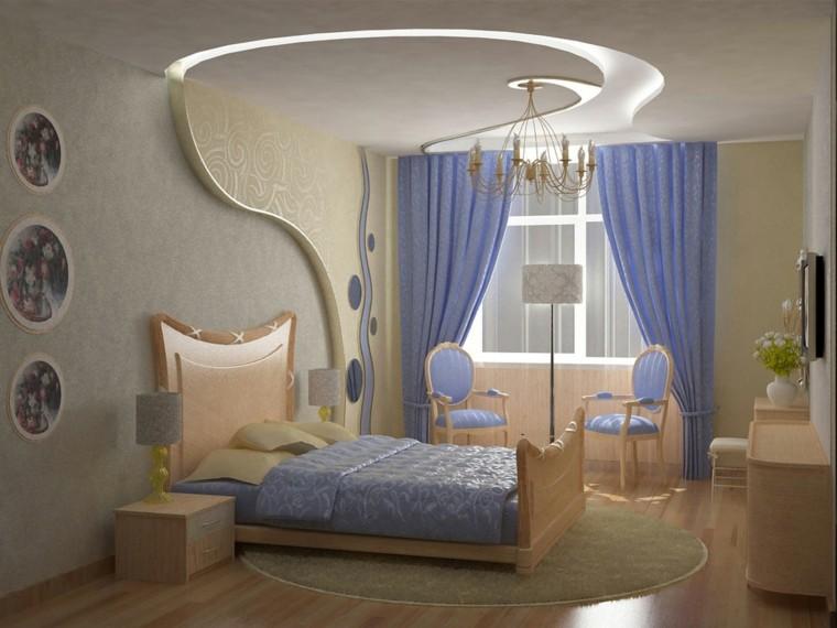 diseño cuarto color beige lavanda