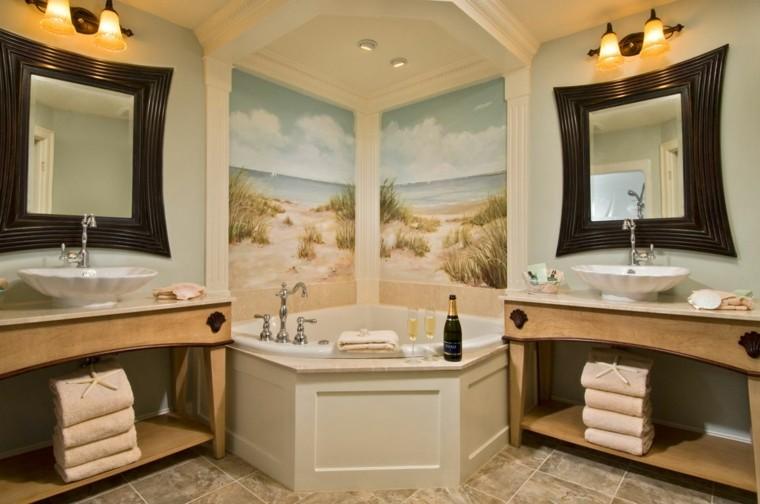 diseño decoracion toallas estrella paredes