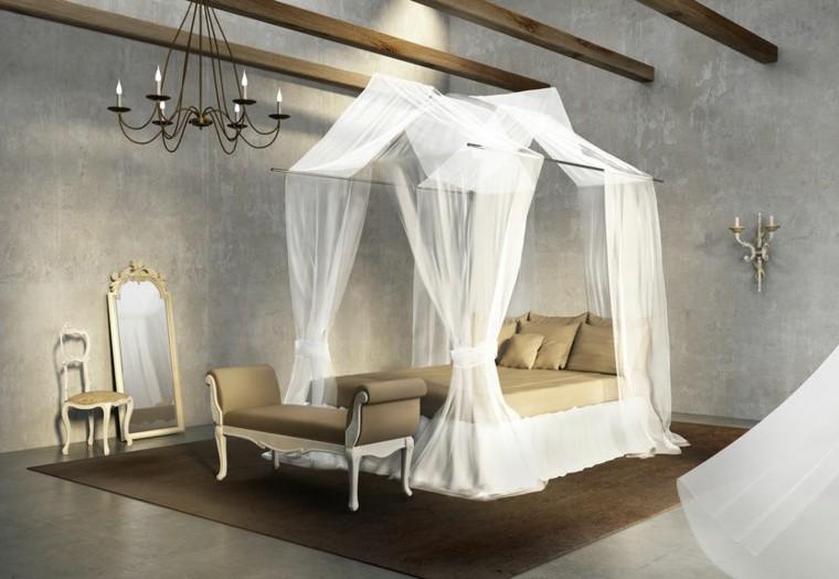 diseño dormitorio estilo vintage moderno