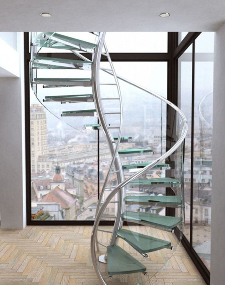 Decorar escaleras con estilo 50 ideas - Fotos de escaleras caracol ...