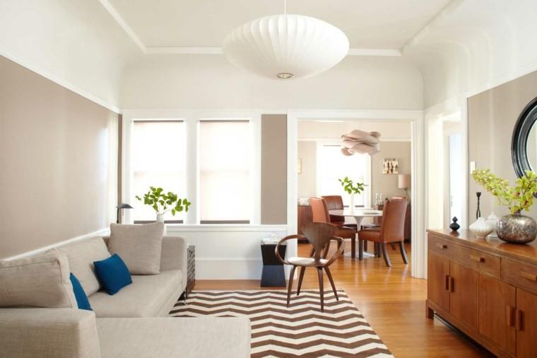 diseño estilo escandinavo salones modernos