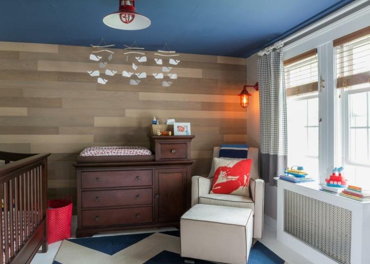 diseño habitaciones infantiles colgantes papeles lampara