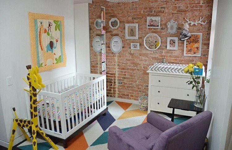diseño habitaciones infantiles jirafa cuarto selva