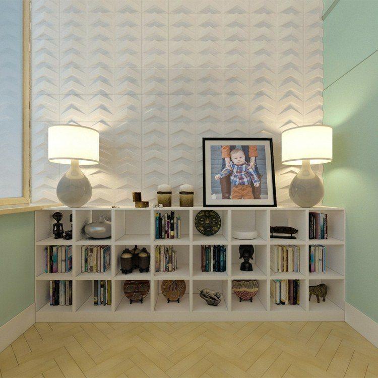 diseño habitaciones infantiles lampara blanco cuadro