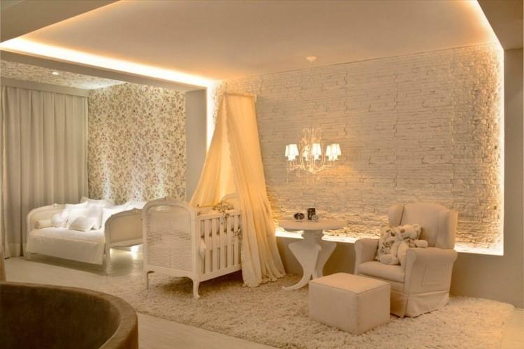 diseño habitaciones infantiles led decoracion elegante