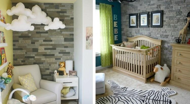 diseño habitaciones infantiles lleon selva rocas