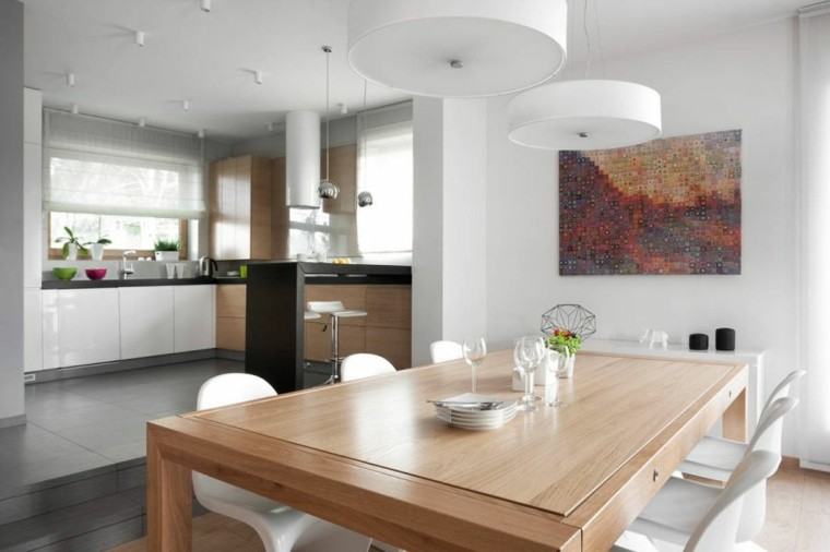 diseño interiores minimalistas brillante contemporaneo cuadro