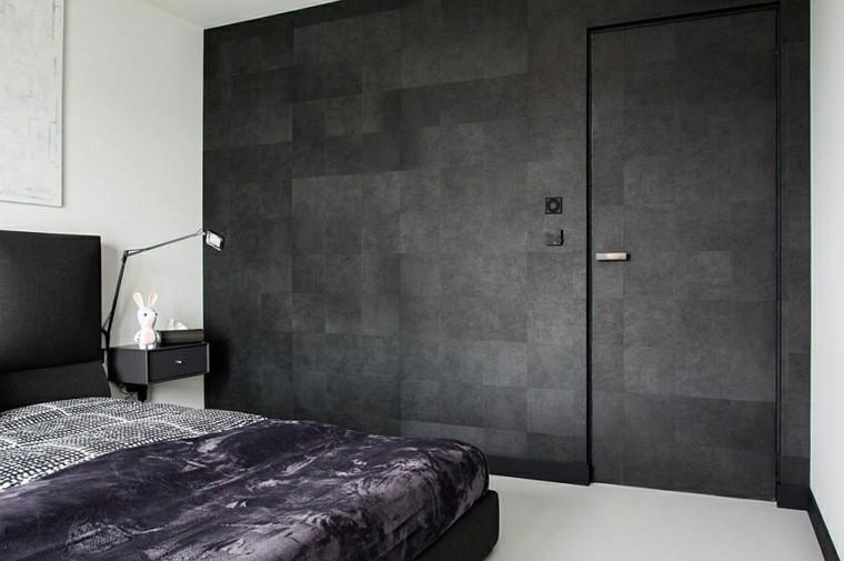 diseño interiores minimalistas conejo lampara oscuro