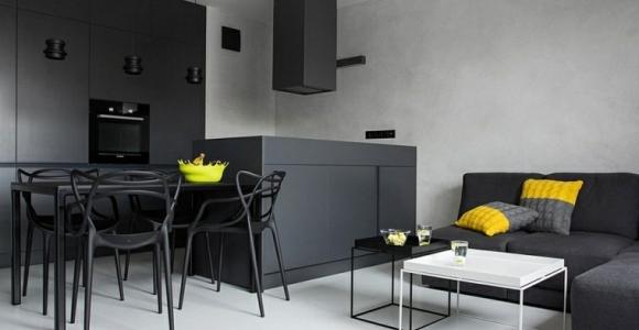 Diseño interiores minimalistas y atractivos para el hogar.