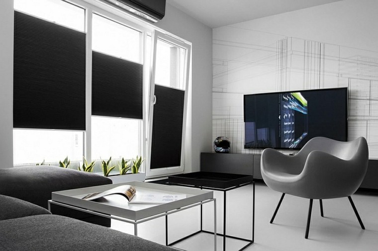 Dise o interiores minimalistas y atractivos para el hogar for Interiores minimalistas