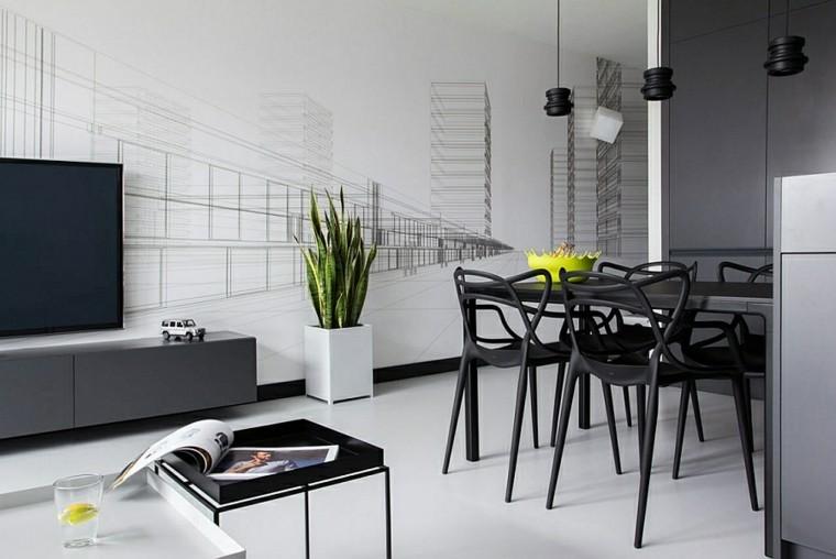 diseño interiores minimalistas vaso limon serpiente