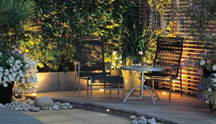 Dise o jardines peque os y creatividad en cada espacio - Jardines exteriores pequenos ...