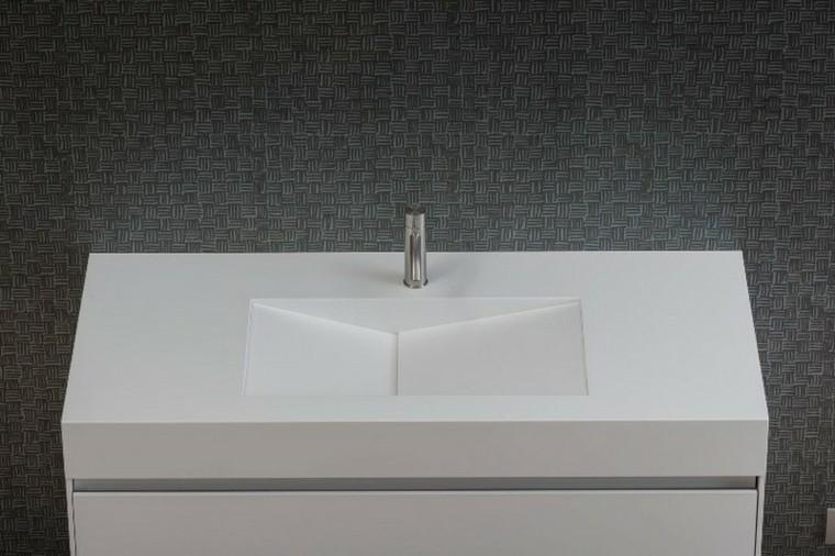 diseño lavabo moderno plano moda