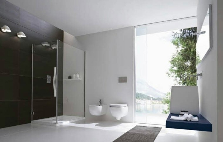 diseño estilo lujoso baño ducha