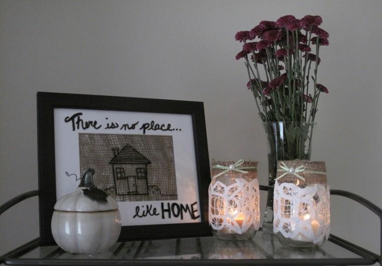 diseño manualidades originales velas candelabros