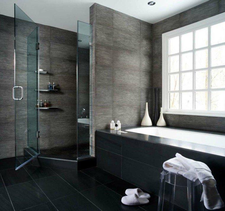 diseño moderno baño cabina ducha
