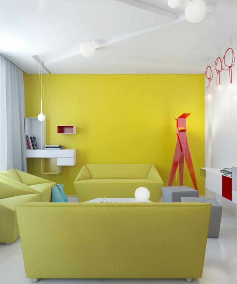 diseño sala d estar muchos colores