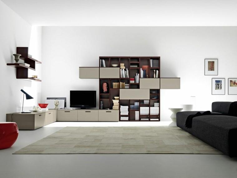 diseño sala estilo moderno