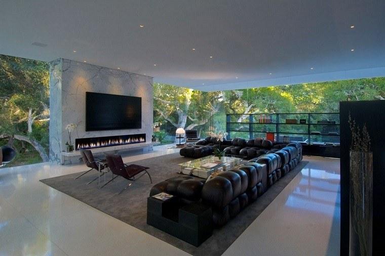diseño salon ventilado cubierta