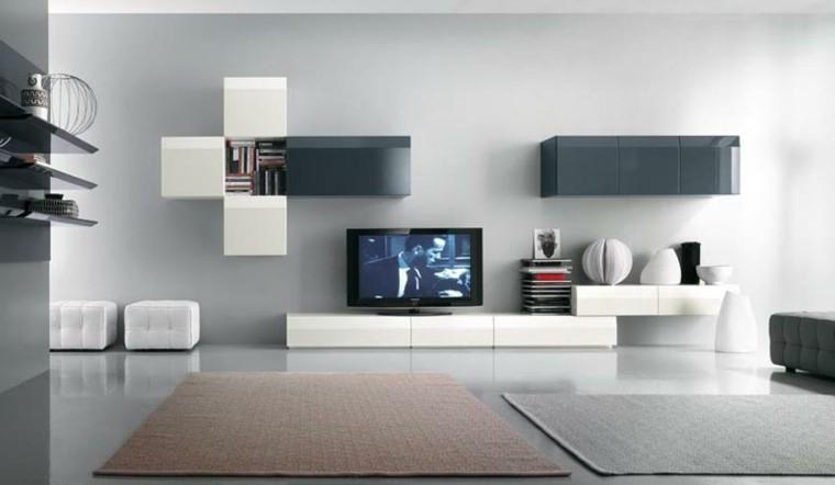 diseño salones modernos tonos neutros