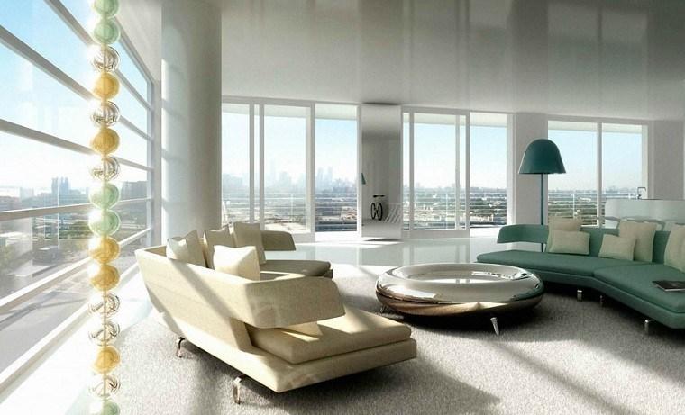 diseño salones lujosos vistas