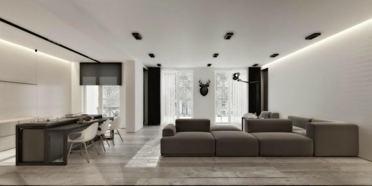 diseño salones modernos luces Led