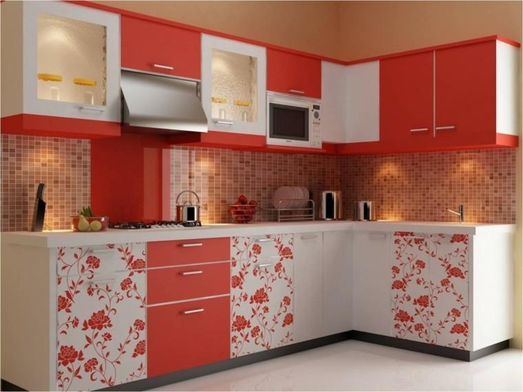 Distribucion en l, ideas de lujo para cocinas prácticas.