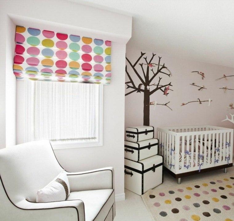 deco dormitorio bebe lunaeres colores