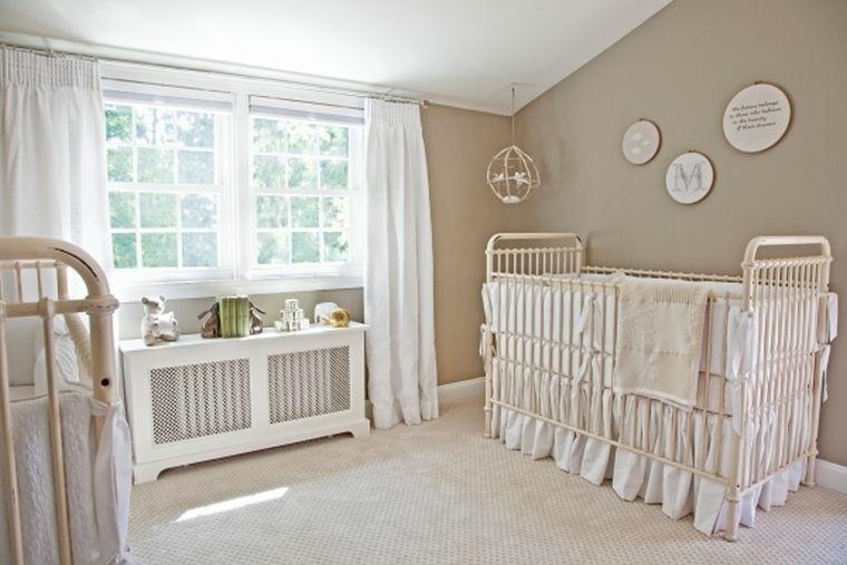 dormitorio bebe color marron claro