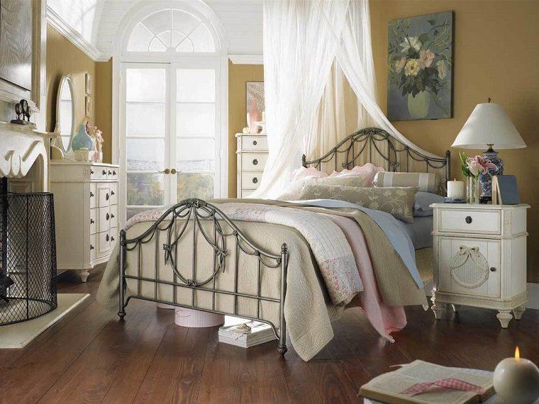 dormitorio-cama-acero-etilo-diseno-vintage