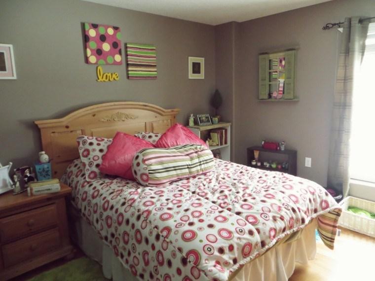 diseño dormitorio chica estilo moderno