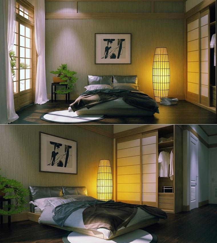 dormitorio estilo minimalista moderno inspiracion zen ideas