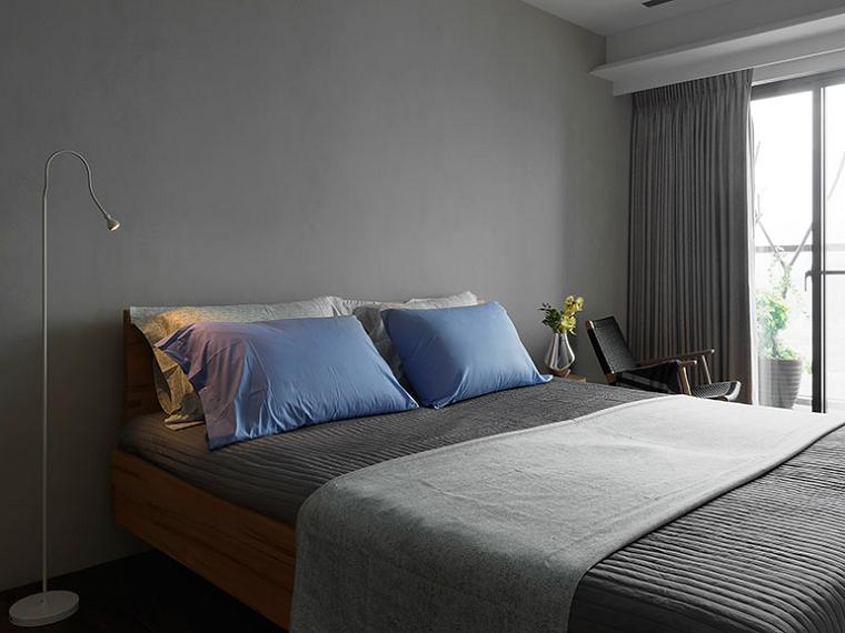 dormitorio estilo minimalista moderno lampara preciosa ideas