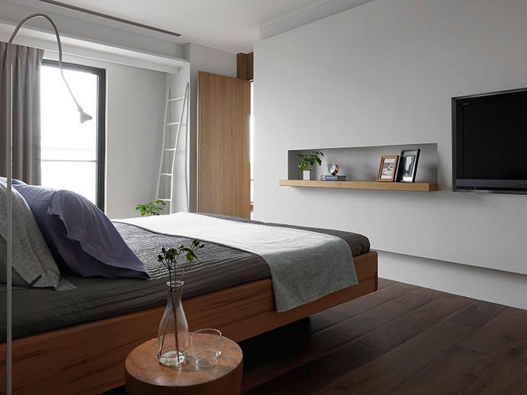 Interiores minimalistas 100 ideas para el dormitorio for Diseno de interiores recamaras pequenas