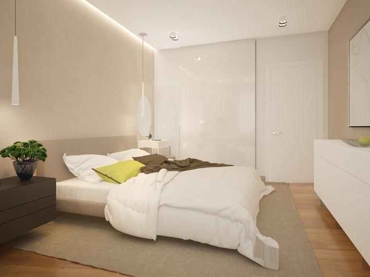 Interiores minimalistas 100 ideas para el dormitorio - Colores paredes dormitorio ...