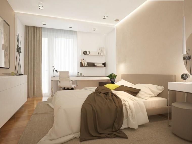 Interiores minimalistas 100 ideas para el dormitorio Colores minimalistas para interiores