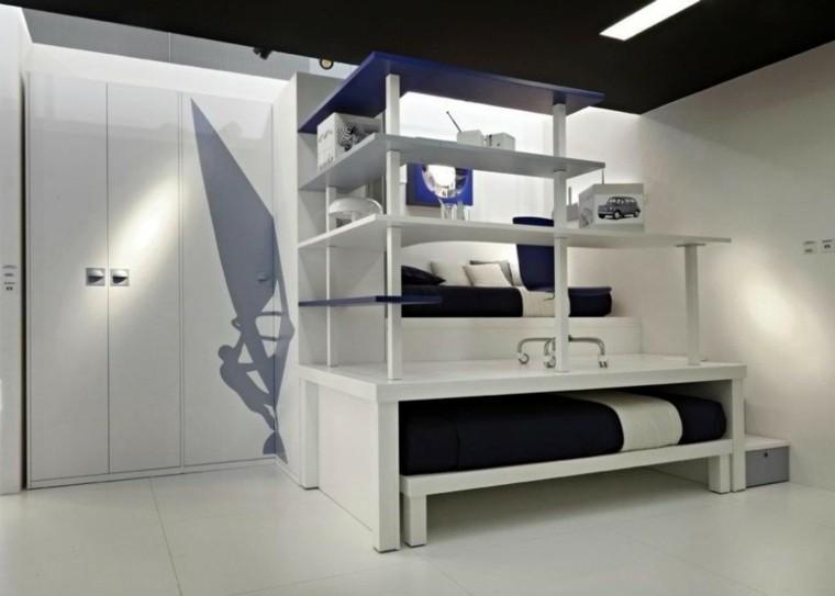 dormitorio infantil velero armario surf