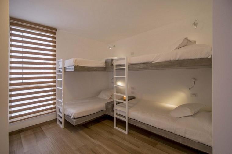 dormitorio juvenil camas literas dos