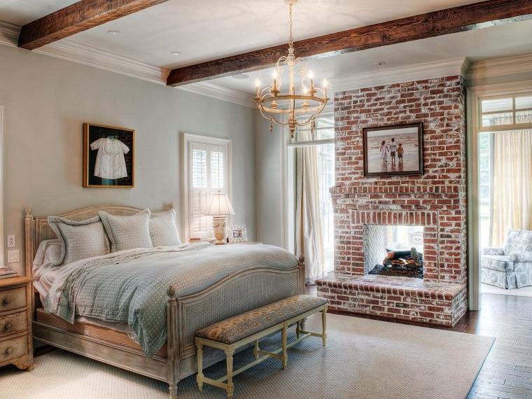 Tipos de chimeneas perfectas para un hogar acogedor - Decoracion habitacion rustica ...