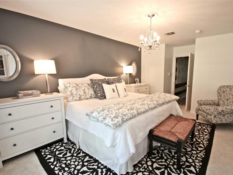 dormitorio moderno diseño estilo retro