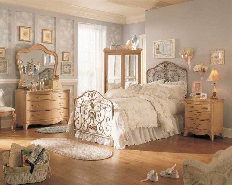 decoracion dormitorio vintage - vuelve lo retro - Muebles De Diseno Vintage